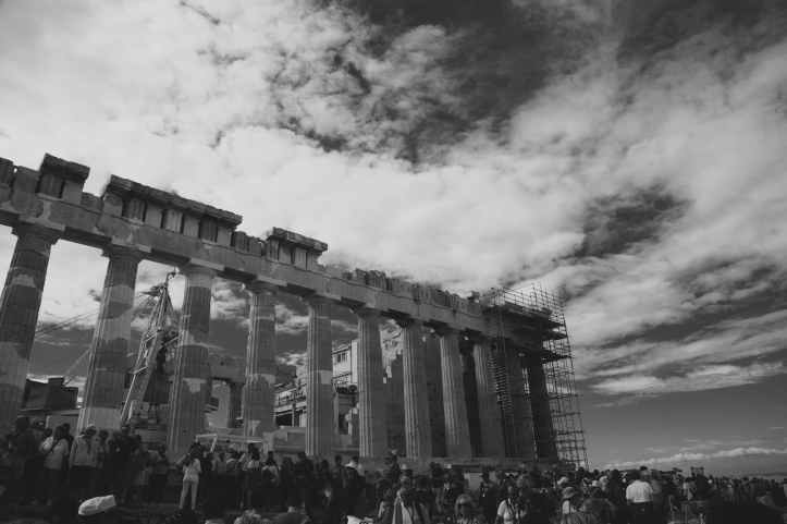 architecture athens black and white black and white